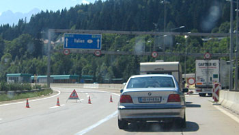 Bordercrossing Hermagor. (novala)