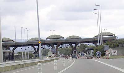 Border-crossing Mulhouse F-D